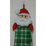 Papai Noel Em Feltro Porta Pano De Prato Lindo Natal