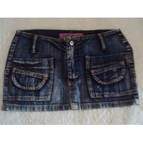 Saia Feminina Jeans Sexy Company Tamanho 36