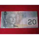 Canadá 20 Dolares 2004