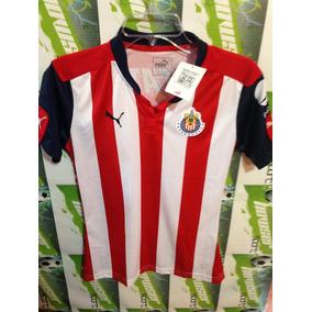 Jersey Oficial Chivas D Guadalajara Puma 100%original Mujer