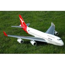 Planta Pdf Boeing 747 - 400 Air France Em Depron