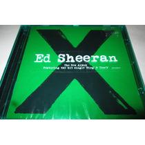 Cd Ed Sheeran The New Album X Cerrado De Fábrica Original