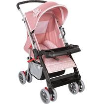 Carrinho De Bebê De Passeio Tutti Baby Thor Até 15kg - Rosa