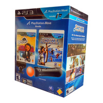 Playstation Move Ps3 - Pronta Entrega - Kit Completo 2 Jogos