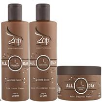 Zap Linha Manutenção All Day - Shampoo + Cond + Máscara