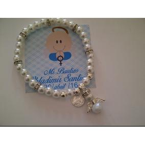 Oferta Bautizo Recuedo Pulsera Primera Comunión Baby Shower