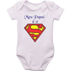 Body Infantil Super Man