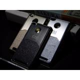 Case Xiaomi Redmi 3s , Estilo Metal Cepillado