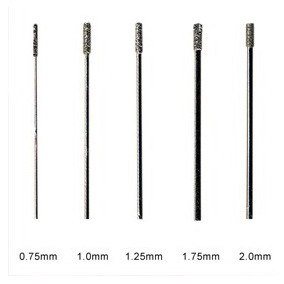 Brocas De Diamante Para Perforar Vidrio (0.75mm.)