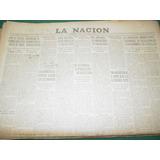 Diario La Nacion 21/1/55 Peronismo Congreso De Productividad