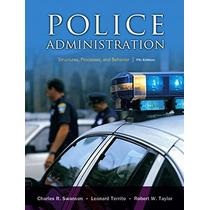 Livro Importado A Administração Da Polícia