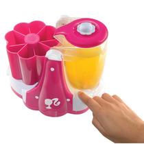 Maquina De Sucos, Picole E Sorvetes Natural Barbie Infantil