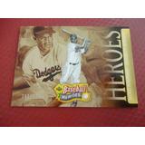 Cv Numerada De 575 2005 Baseball Heroes Jackie Robinson Hof