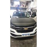 Ploteado Simil Carbono Capot Chevrolet S-10 Y Demas Vehiculo