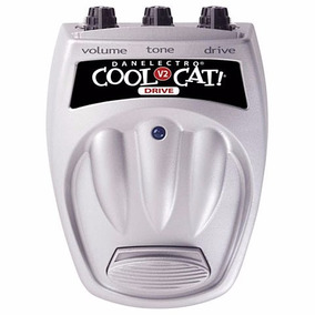 Pedal Danelectro Cool Cat C 02 Drive Novo