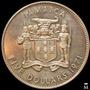 Mg* Jamaica 5 Dólares 1971 Monedón De Plata 42 Gr. Proof