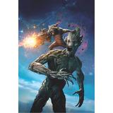 Poster Guardianes De La Galaxia Super A3 Marvel Gotg 6