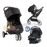 Cochecito Baby Jogger City Mini + Huevito + Base + Adaptador