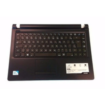 Teclado Notebook Cce Win U25 U45 Original Com Frame Semi Nov