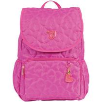 Mochila Escolar Capricho Love Pink Viii Gd 3bo Dmw
