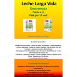 Leche Larga Vida Entera/ Descremada Primera Marca!!!