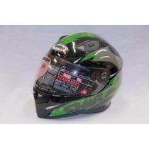 Casco Shiro 881 Aerodinamic Verde