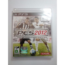 Pes 2012 - Pro Evolution Soccer 2012 - Ps3 Original Lacrado
