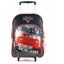 Mochila Cars 16 Pulgadas Con Carro 81153 Mejor Precio!!