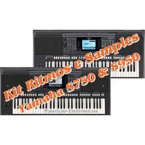 Ritmos Yamaha Atuais + Kit De Sample Interno Psr S750-s950