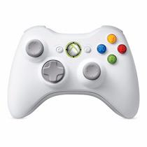 Controle Xbox360 Branco Wireless Original Leiam O Anúncio!!!