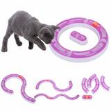 Juego Circuito Modular Para Gatos Pethome Chile