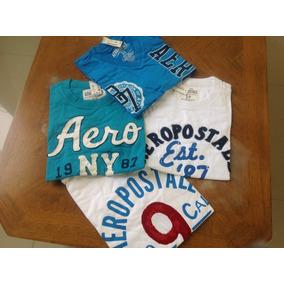Camisetas Aeropostal Originales Talla S Caballero