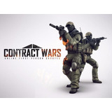 Contract Wars Premium - 1000 Gp De Recarga - Juegos Pc