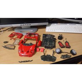 Rodas E Pneus Tras Ferrari F50 Conversível 1:18 Maisto Shell