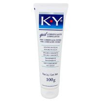 Lubrificante Intimo K-y 100g Transparente Não Gorduroso