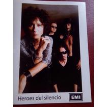 Héroes Del Silencio Fotografía Jpg 20×15cms Bunbury Valdivia