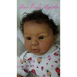 Bebê Reborn Negra. Linda!!! Com Naninha De Brinde!