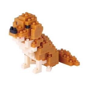 Nanoblock Perro Labrador Mini Bloques Ármalo Tu Mismo