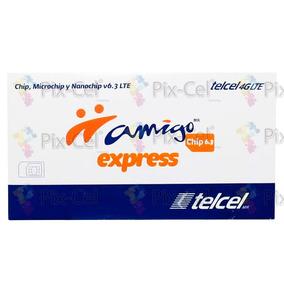 50 Chip Telcel 4g Lte Micro & Nanochip Lte Mayoreo Region 7