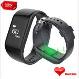 Pulsera Inteligente R1 Monitor Cardiaco Podómetro Touch Scre