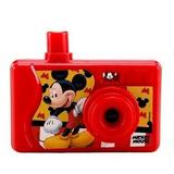 Mini Camera Projetora De Imagens Coloridas Mickey Disney