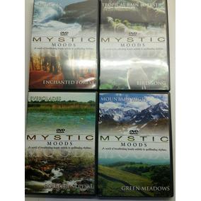 Mystic Moods Set De 4- Musica Instrumental En Dvd