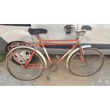 Antigua Bicicleta Doble Caño Freno A Varilla A Reciclar
