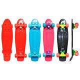 Skate Top Radical 55x14cm Colors Brinquedo Criança