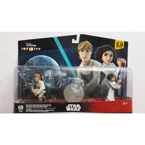 Set Disney Infinity 3.0 Star Wars Luke Y Princesa Leia Nuevo