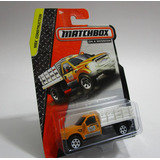 Camioneta Ford Estacas Escala 1/64 Coleccion Matchbox