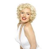 Peruca Marilyn Monroe Cosplay Carnaval Fantasia Festa