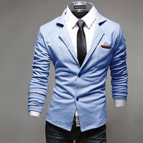 Saco Blazer Hombre Slim Fit Fiesta Casual Moda De Gala Guapo