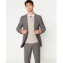 Zara Man Saco Blazer Slim Fit Pull Bear Bershka
