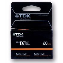 Mini Dv Cassettes Professional Pack X 5 Uni. Tdk ¡novedad!